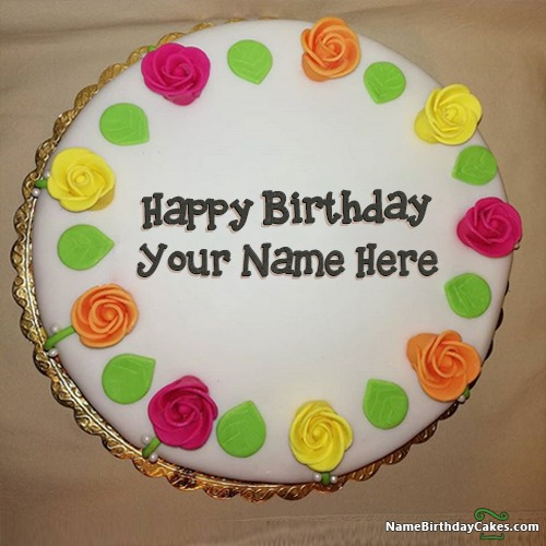 Top Birthday Cake With Name Generator For Girl Free