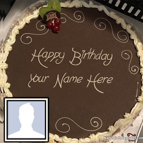 Write Name On Birthday Cake Images