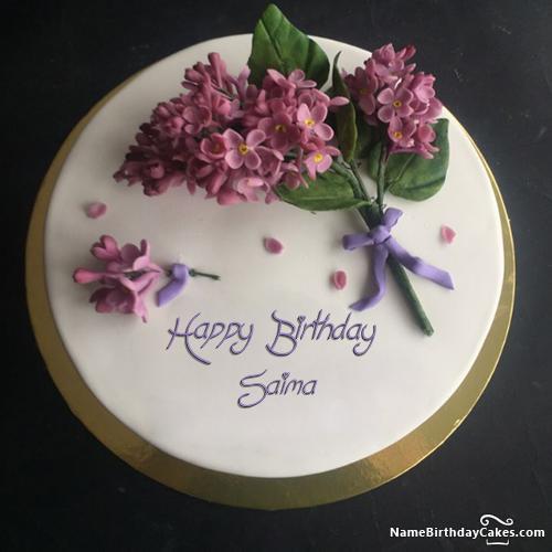 Happy Birthday Saima Cake Images Download Amp Share