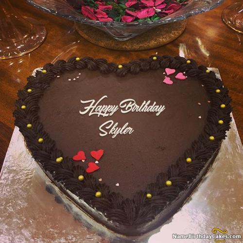 Happy Birthday Skyler Cake Images Download Amp Share