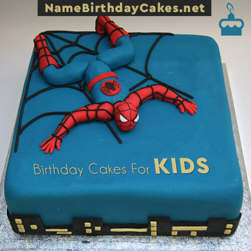 Happy Birthday Cakes For Kids With Name