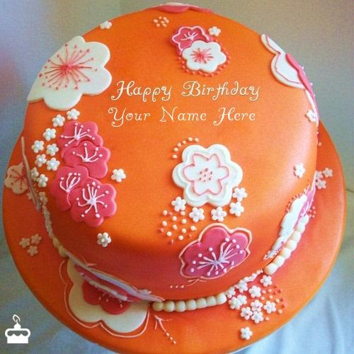 name birthday cakes write