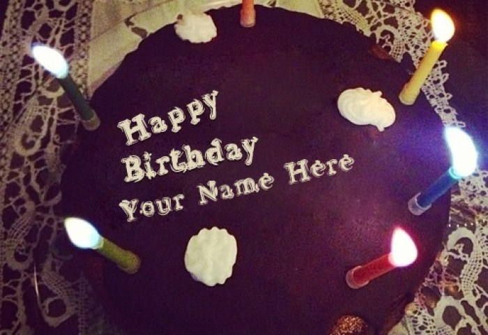 Birthday Cake With Name For Boys