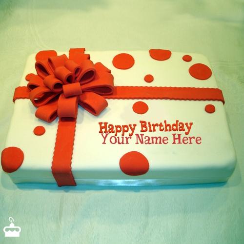Happy Birthday Cake Zainab