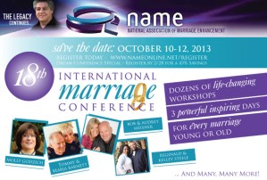 NAME 18th Annual International Marriage Conference - Save the Date - IMC18