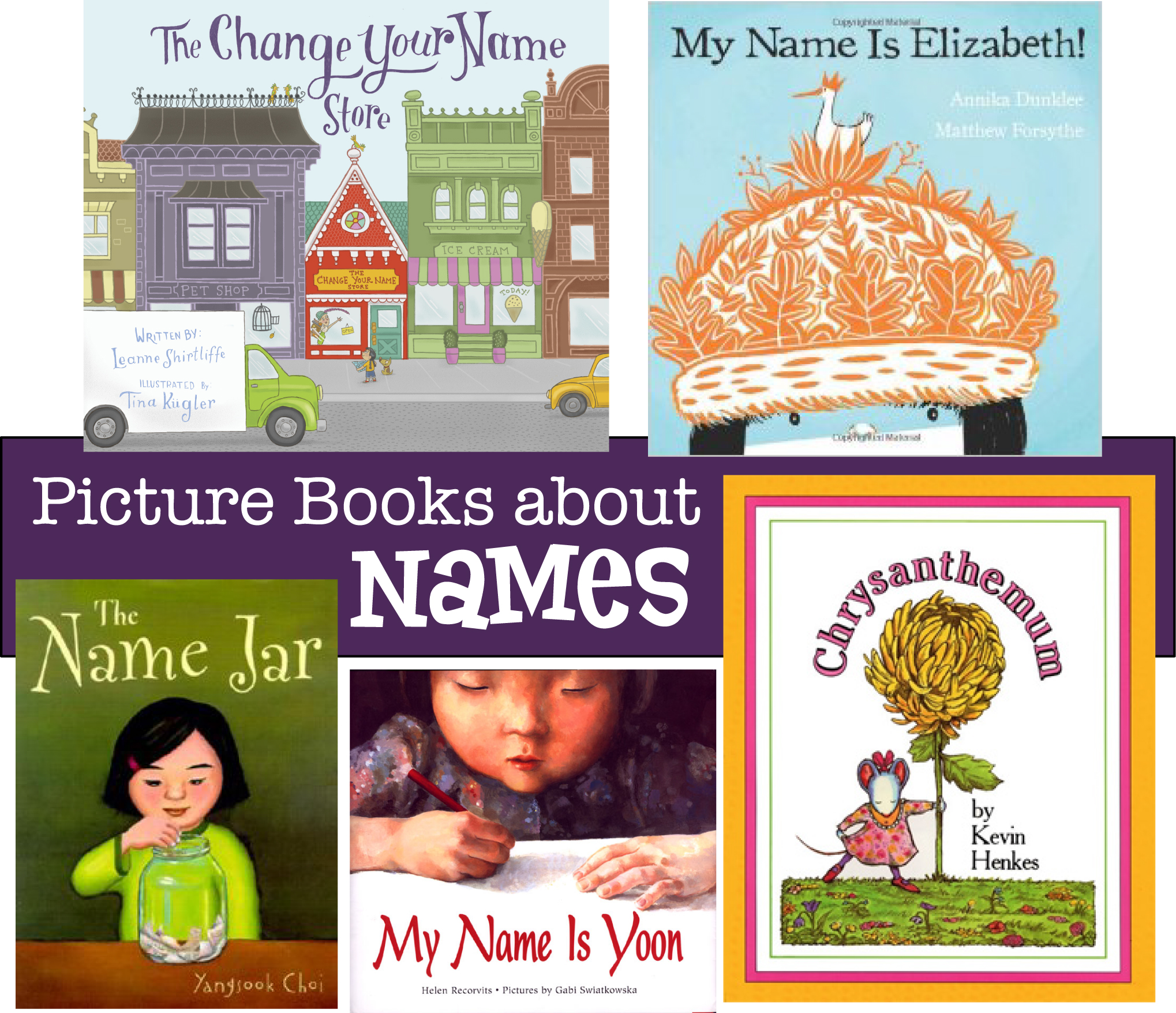 More Books About Names