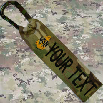 US Navy Anchor luggage tag