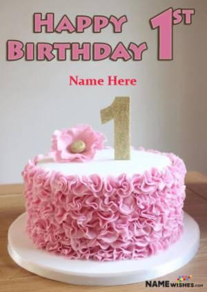 Happy Birthday Cake For Baby Boy With Name : happy, birthday, Birthday