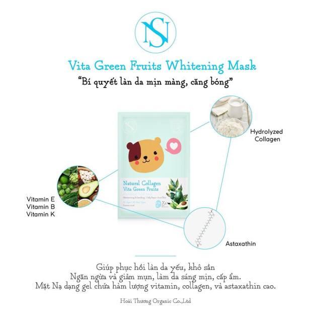 Mặt nạ NS Mask -mặt nạ Nấm Hoài Thương