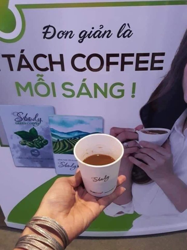 Cà phê giảm cân Sbody Green Coffee