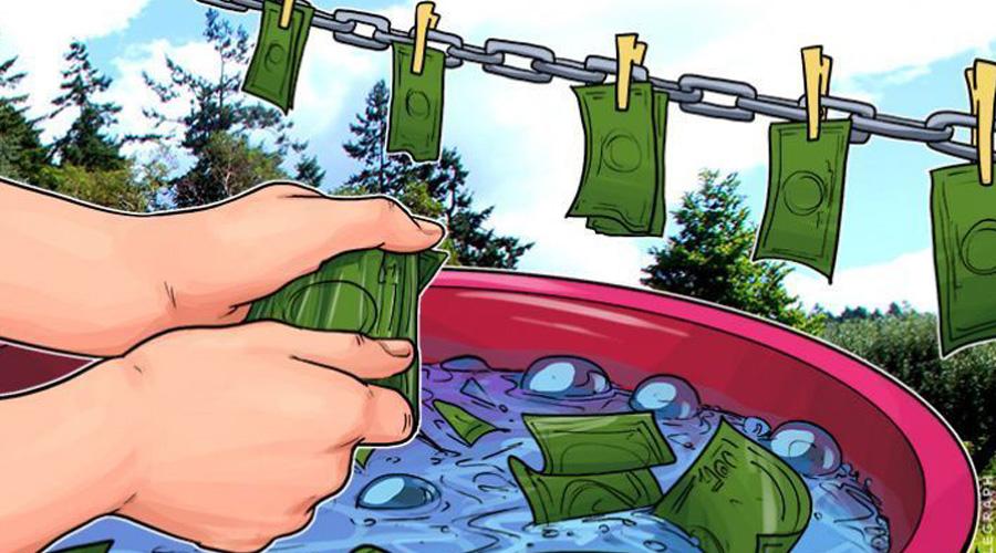 bitcoin laudering