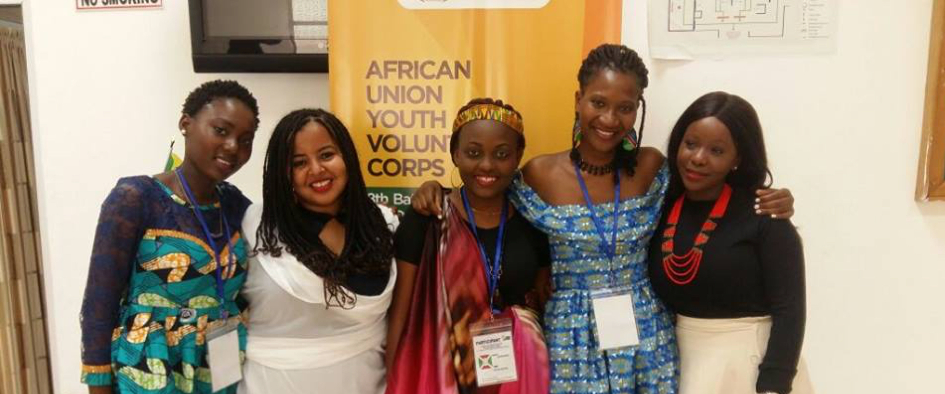 Marly Samuel @African Union Youth Volunteers Corp (AU-YVC) 8th Batch Deployment Training held in Accra Ghana