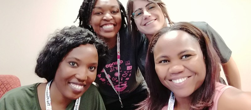 Django Girls Workshop and PyCon Namibia 2018 chat with Esther N. Shikomba