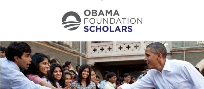Obama Foundation Scholars Programme for Masters Study at the University of Chicago Harris School of Public Policy 2018/2019 (Fully Funded )