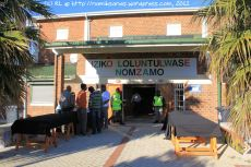 The Community Hall in Nomzamo outside the Strand hosts the Defence Review Committee's final public imbizo