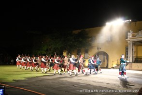The combined pipe bands