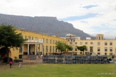 Table Mountain and the Castle - what a backdrop to the Tattoo!