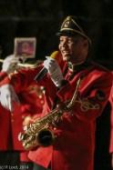 Corporal Godfrey Rahube - a beautiful voice!