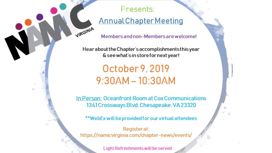 Annual Chapter Meeting