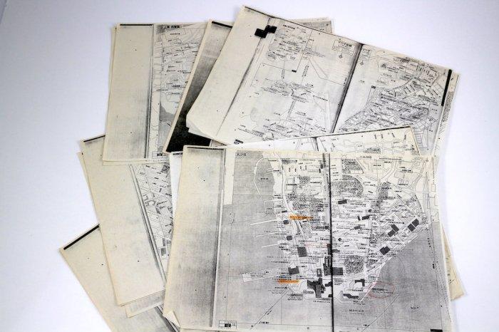 1997年香港の地図コピー