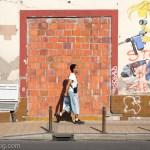 セルビア ノヴィ・サドの壁画アート