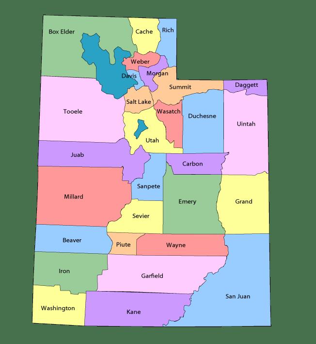 Utah County Maps Online