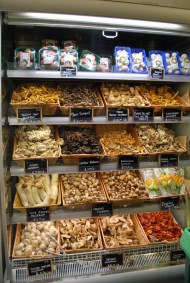 Muchísimas variedades de hongos / Plenty of mushroom varieties. Eataly