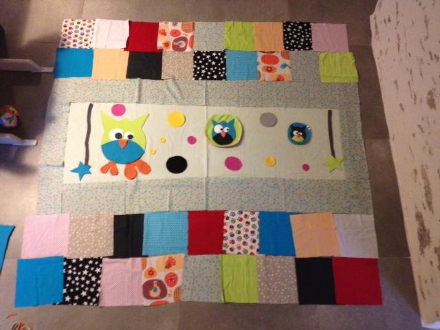 tapis d eveil couverture la couture
