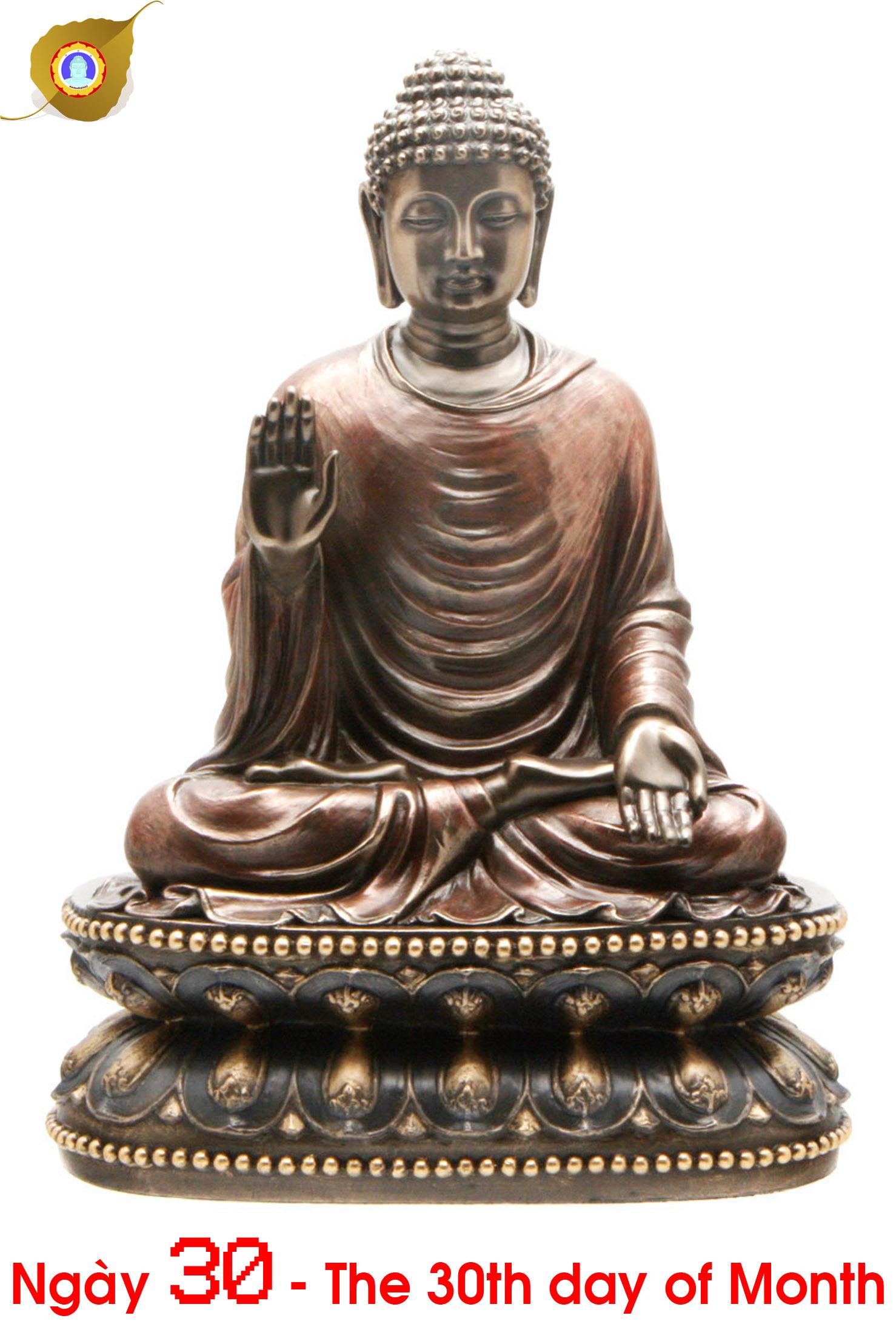 Duyên nhật ngày 30: Đức Bổn Sư Thích Ca Mâu Ni Phật – Fundamental Teacher Shakyamuni Buddha