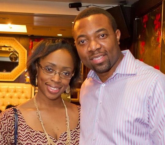 NaMO with his wife, Gozie