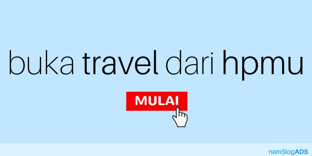 Peluang Usaha Travel Modal Handphone
