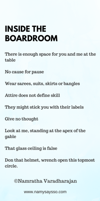 Magic 9 poem inspired by Lean In