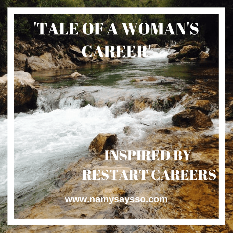 Tale of A Woman's Career: Inspired by Women Restarting Careers #AtoZChallenge #BlogChatterAtoZ #NaPoWriMo