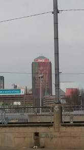 The ubiquitous Coke building