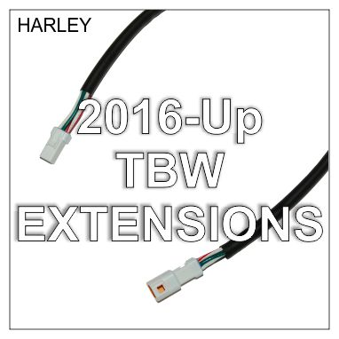 Throttle-by-Wire Harness Extension, '16-Up FXST & Baggers
