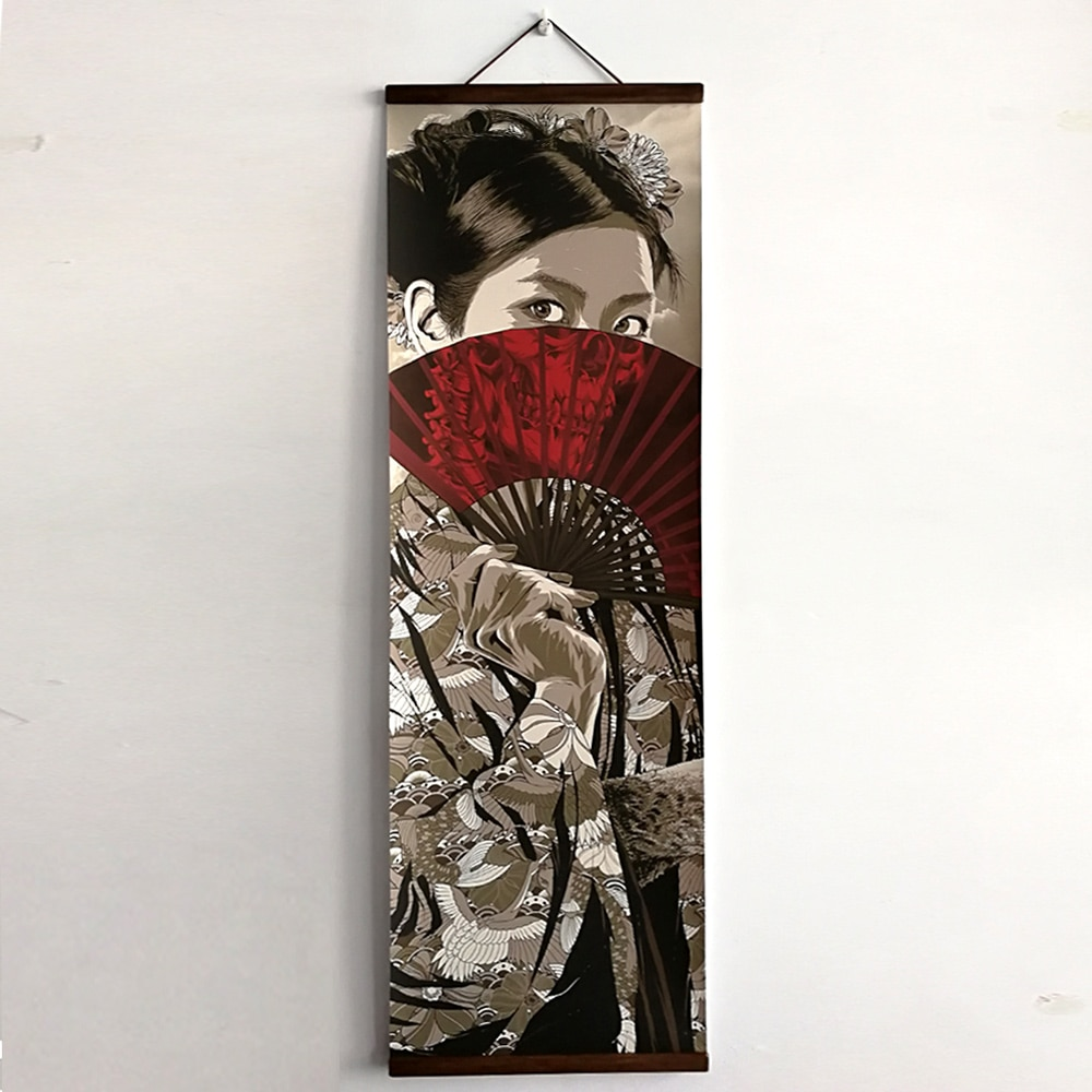 Japanese Ukiyoe for HD canvas poster wall pictures for ...
