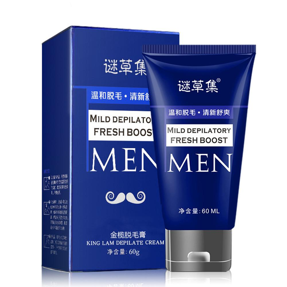 60ml Painless Hair Remove For Women Men Face Legs Armpit Body Hair