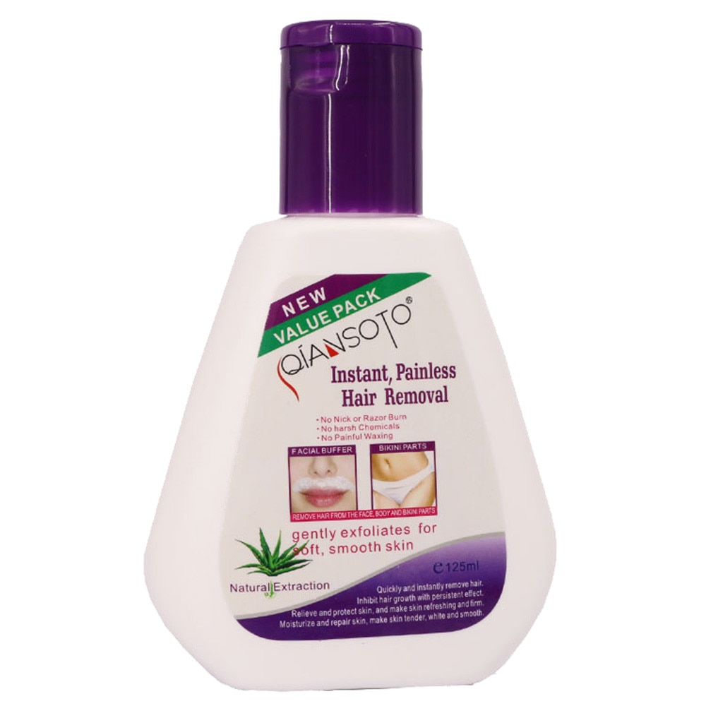 Hair Removal Cream Is Mild And Non Irritating Permanent Hair