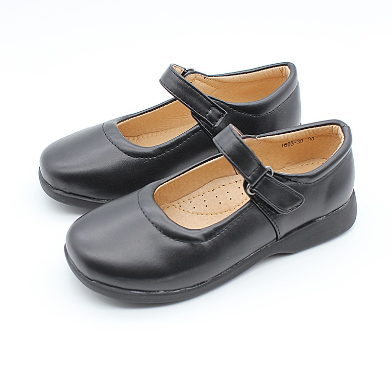 flat black dolly shoes