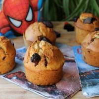 Muffins américains ( un goûter facile et rapide pour les loulous)