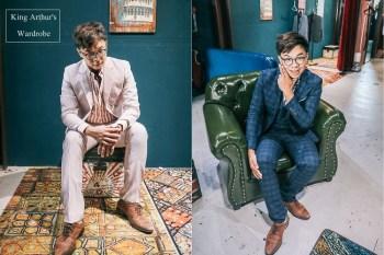 新郎西裝必看》亞瑟王的衣櫥西服工作室。穿出英倫紳士感,阿文這樣穿婚禮不失面子