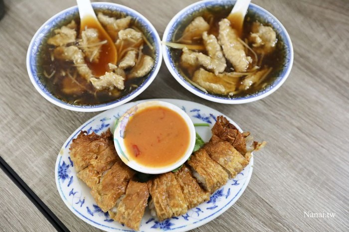 宜蘭羅東》羅東肉羹番。羅東在地人報這一味!國宴等級炸肉捲,肉焿湯必點