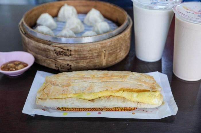員林王記豆漿燒餅。在地人早餐店,必吃酥脆燒餅,超過八點半買不到