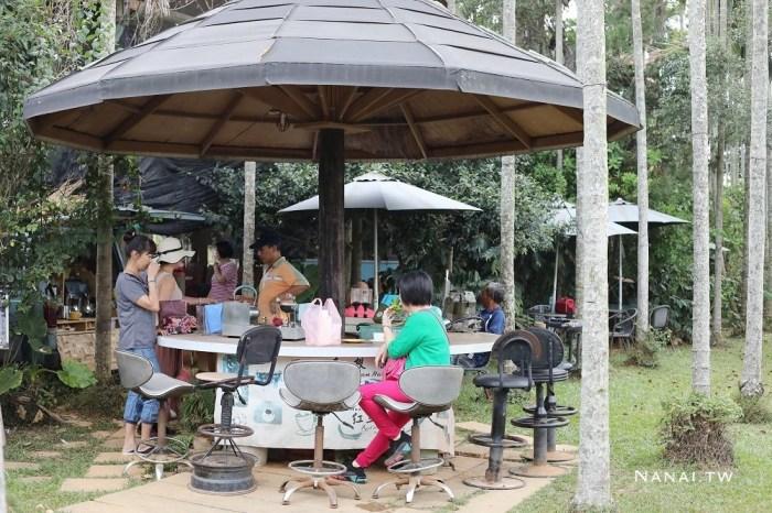 南投橫山紅土咖啡。只有六日營業隱世咖啡店,樹屋咖啡
