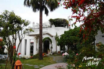 【彰化美食。田尾】鄉間白色浪漫城堡建築,來一趟地中海之旅吧❤綠海咖啡館
