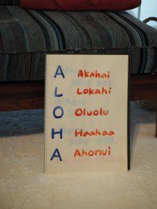 レイワークショップ&ALOHAの意味