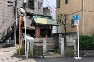 武蔵小杉旧道庚申堂