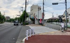 矢野口先の旧道