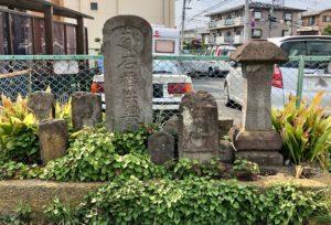 上新田の石碑群