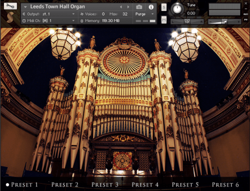 Leeds Town Hall Organ_サムネ